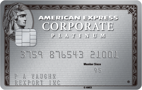 American Express Corporate Platinum Card